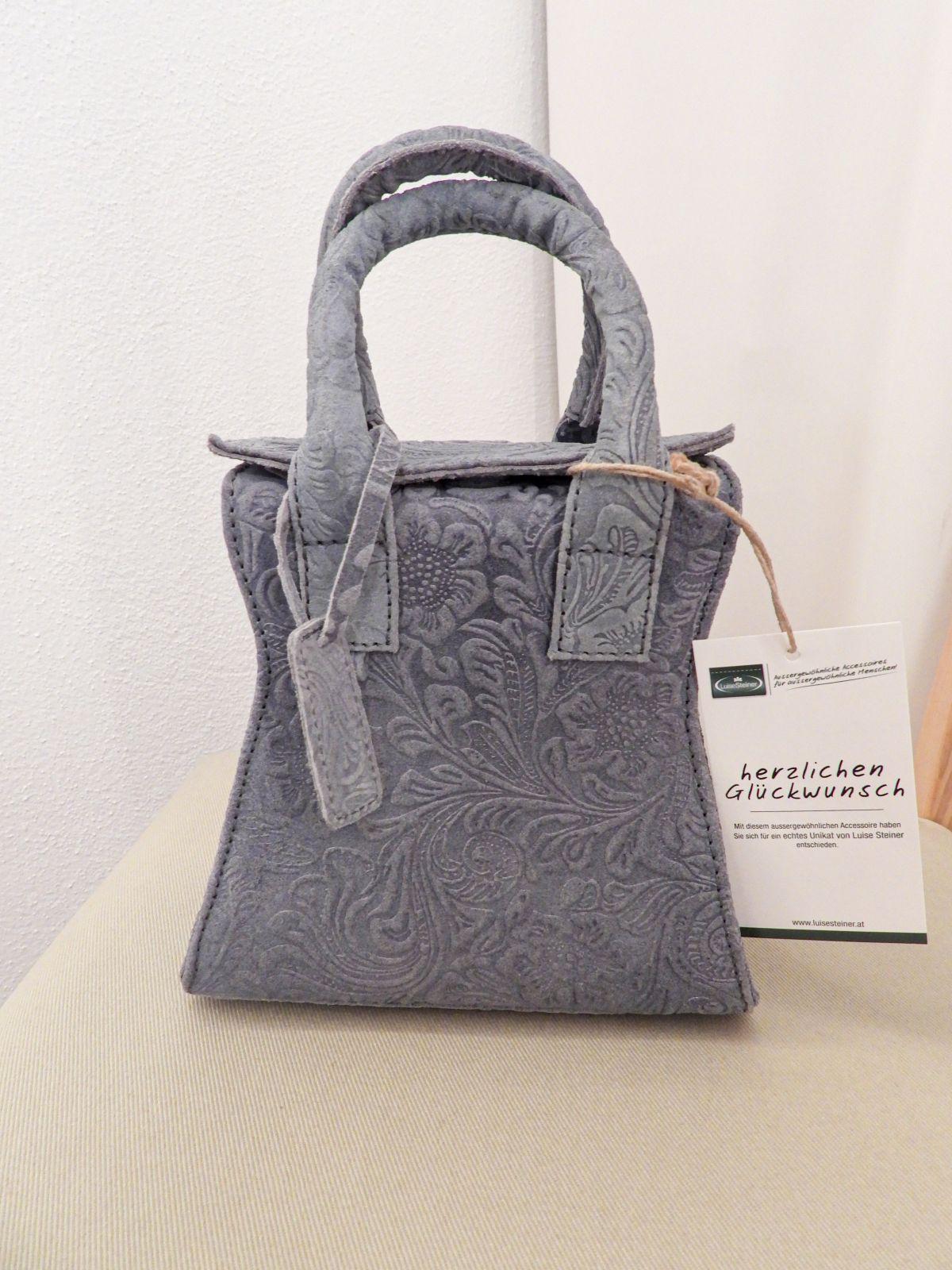Handtasche Luise Steiner, grau